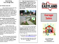 garage sale regulations